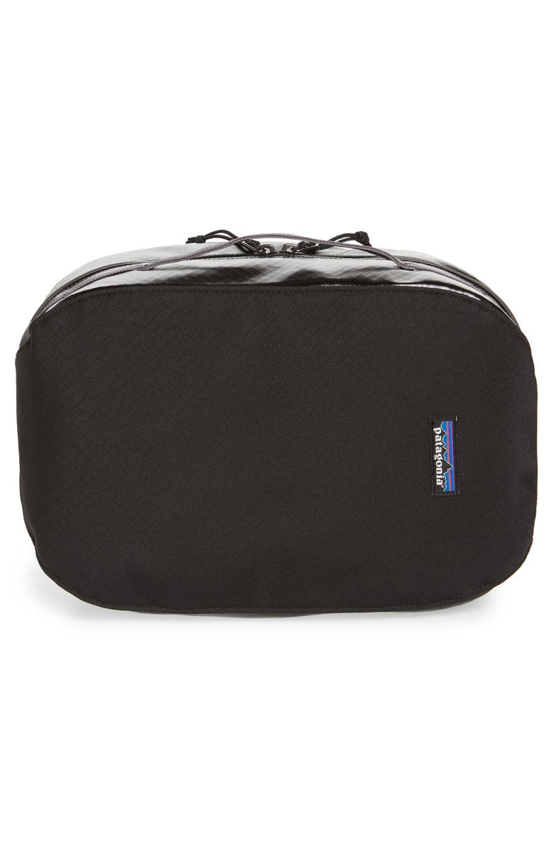 PATAGONIA Black Hole Recycled Water Resistant Large Cube Travel Kit, Main, color, 001
