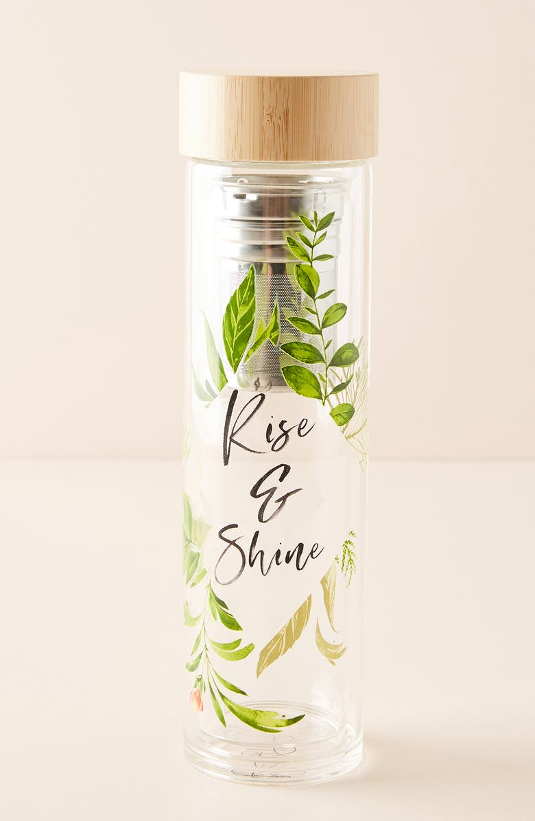 ANTHROPOLOGIE HOME KSdesignery Rise & Shine Infuser Bottle, Main, color, 100