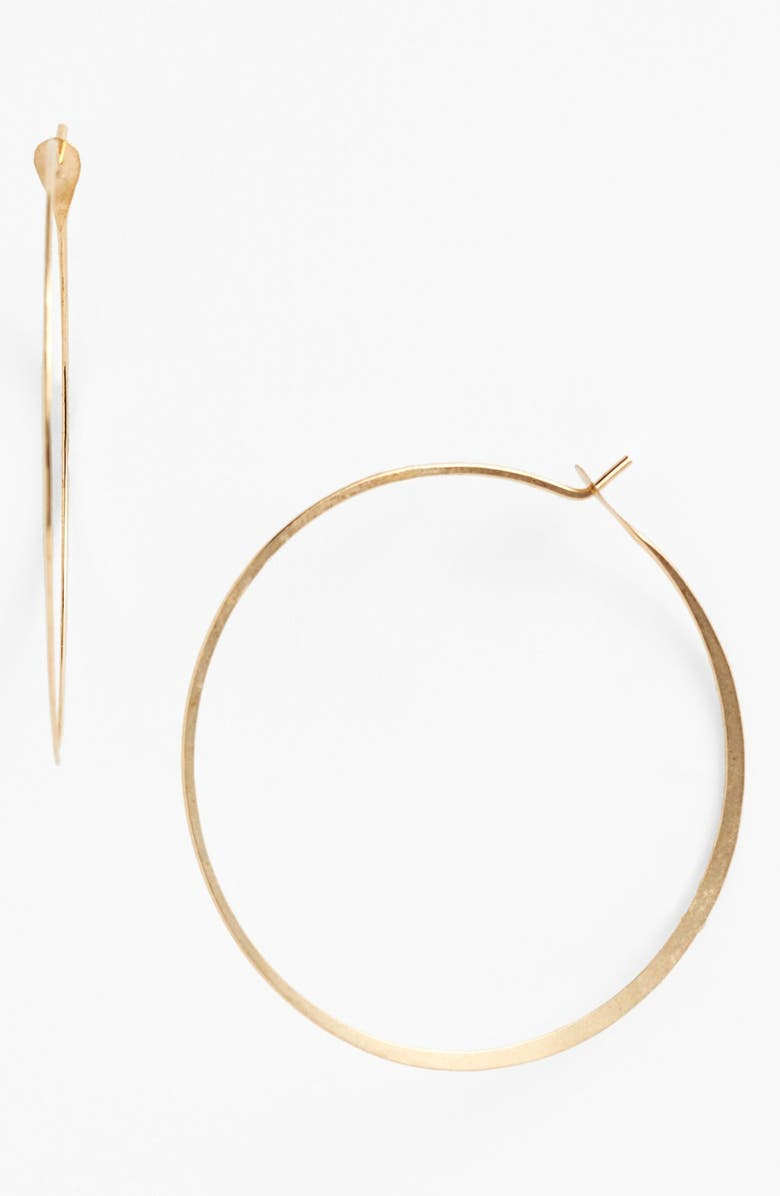 MELISSA JOY MANNING Extra Large Hoop Earrings, Main, color, YELLOW GOLD