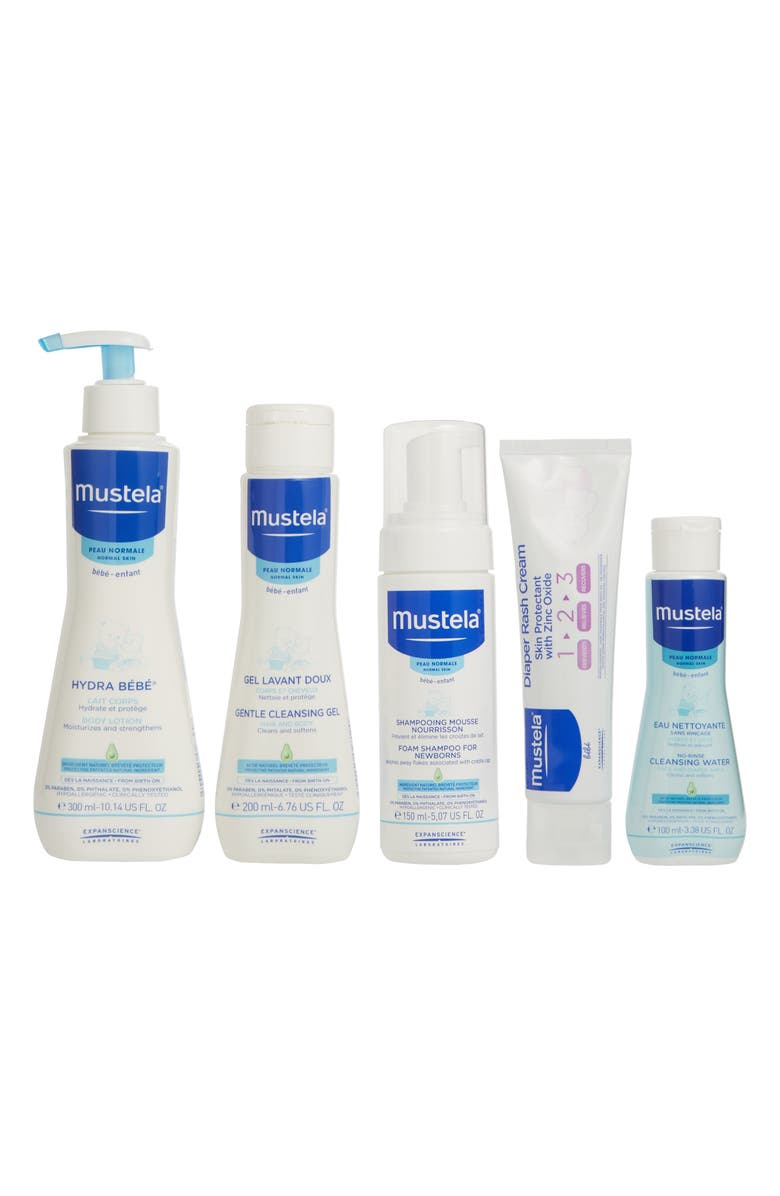MUSTELA<SUP>®</SUP> Newborn Arrival Gift Set, Main, color, WHITE