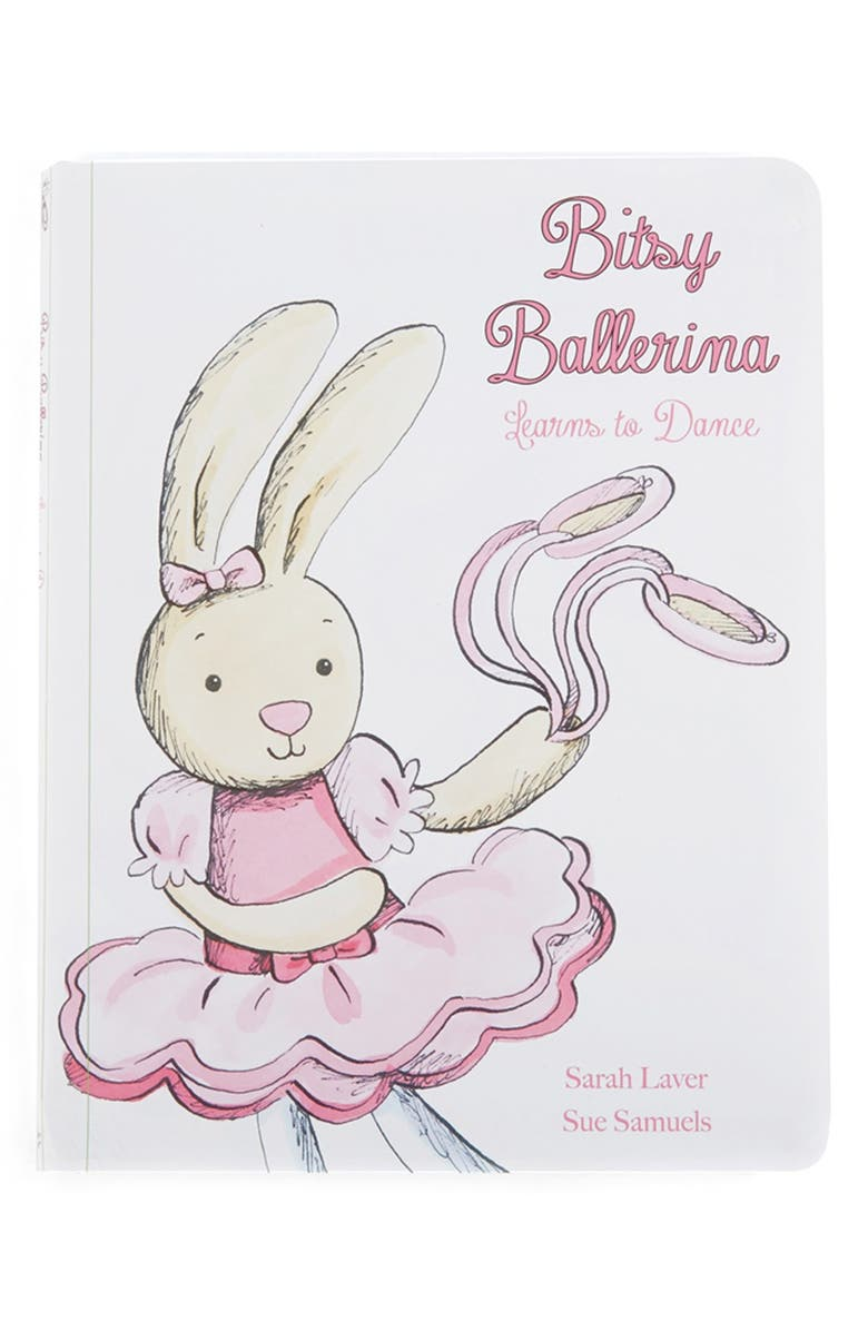 JELLYCAT 'Bitsy Ballerina Learns to Dance' Book, Main, color, 900