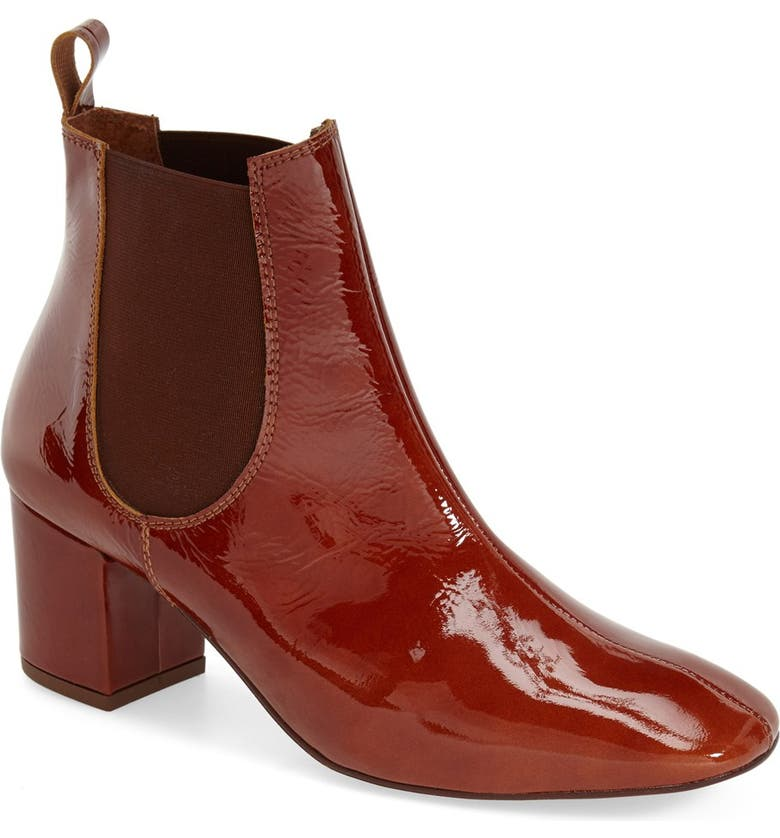 TOPSHOP 'Mary' Chelsea Boot, Main, color, TAN