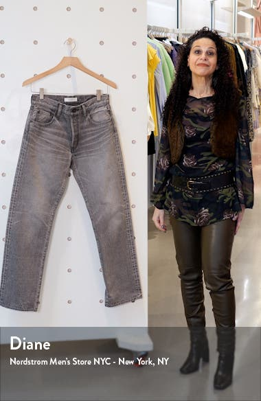 BoothBay Nonstretch Straight Leg Ankle Jeans, sales video thumbnail