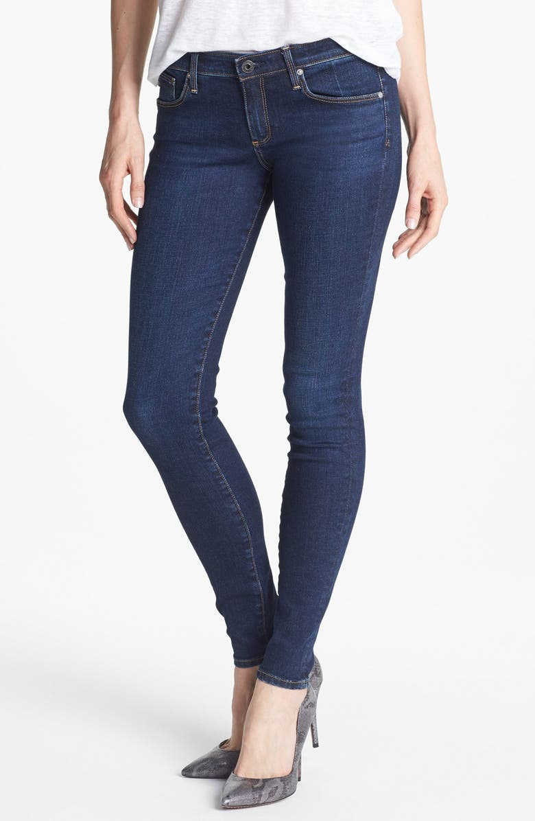 AG 'The Absolute Legging' Extreme Skinny Jeans, Main, color, SMITTEN