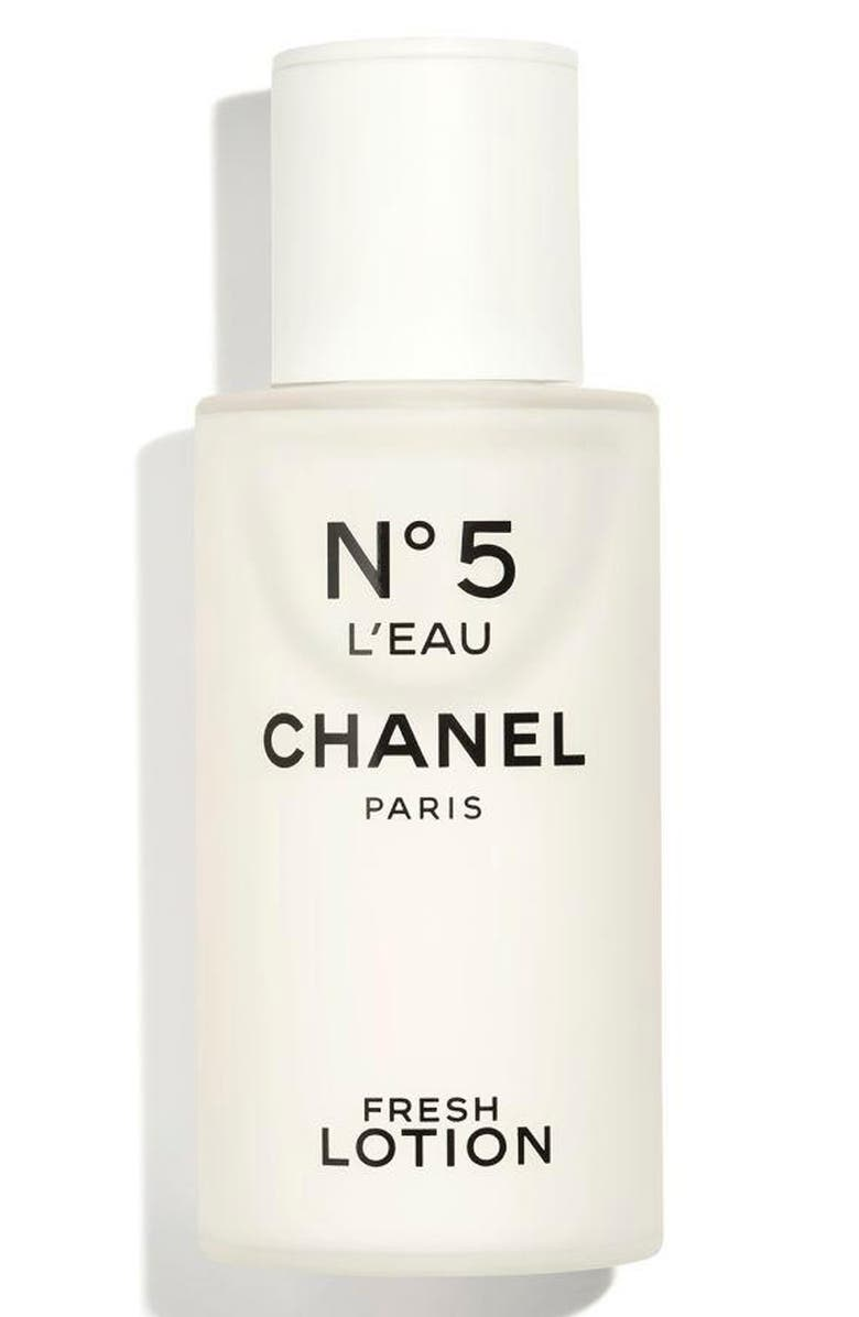 CHANEL Nº5 L'EAU Fresh Lotion, Main, color, 000