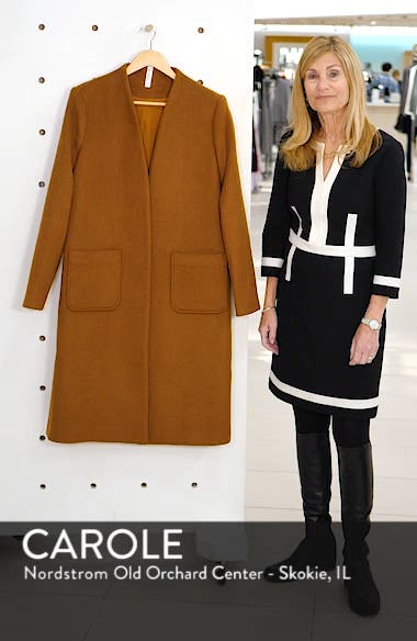 Long Open Front Coat, sales video thumbnail