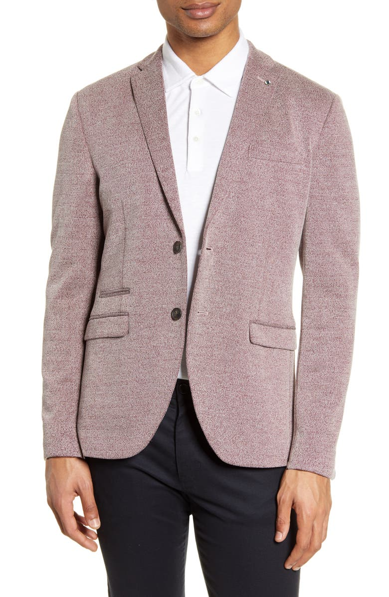 SELECTED HOMME Cody Slim Fit Tweed Sport Coat, Main, color, 617