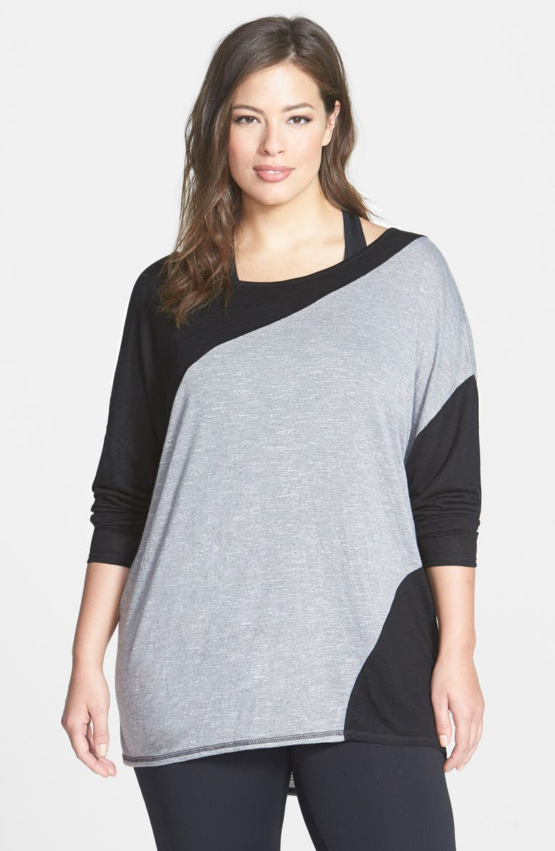 ZELLA 'First Place' Colorblock Pullover, Main, color, 020