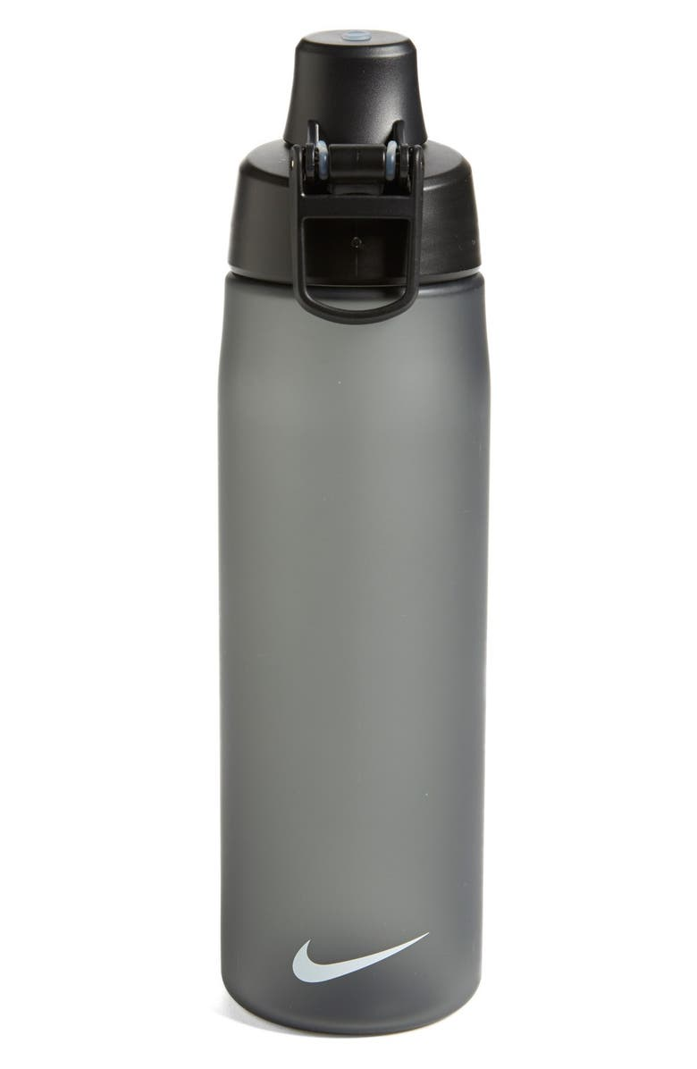 NIKE 'Core' Water Bottle, Main, color, ANTHRACITE/ BLACK