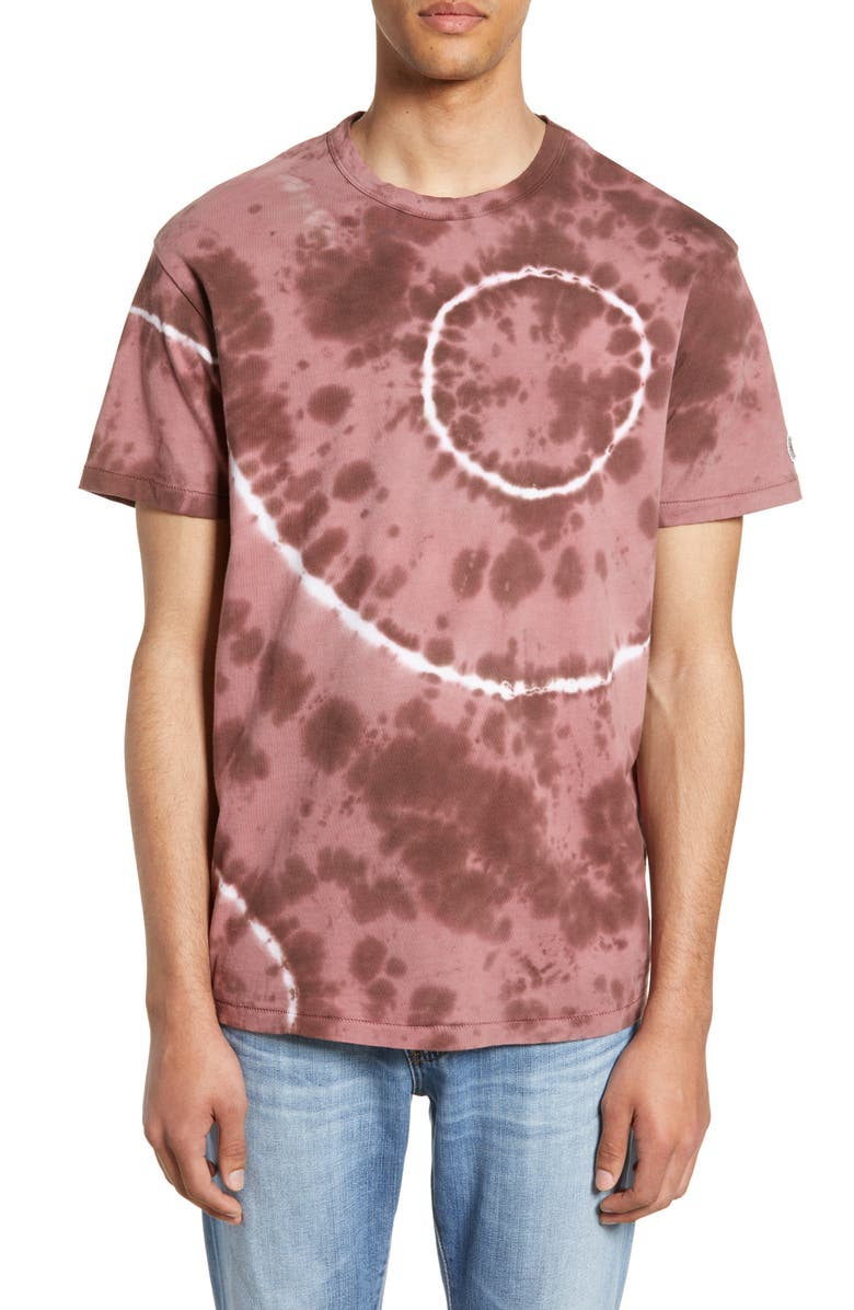 TODD SNYDER + CHAMPION Regular Fit Tie Dye T-Shirt, Main, color, 543