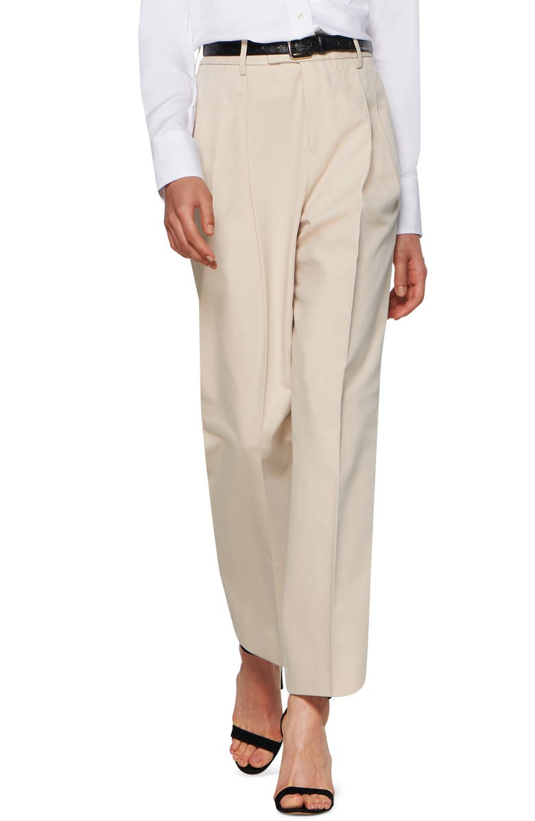 SUISTUDIO Max Cotton Blend Tapered Trousers, Main, color, 755