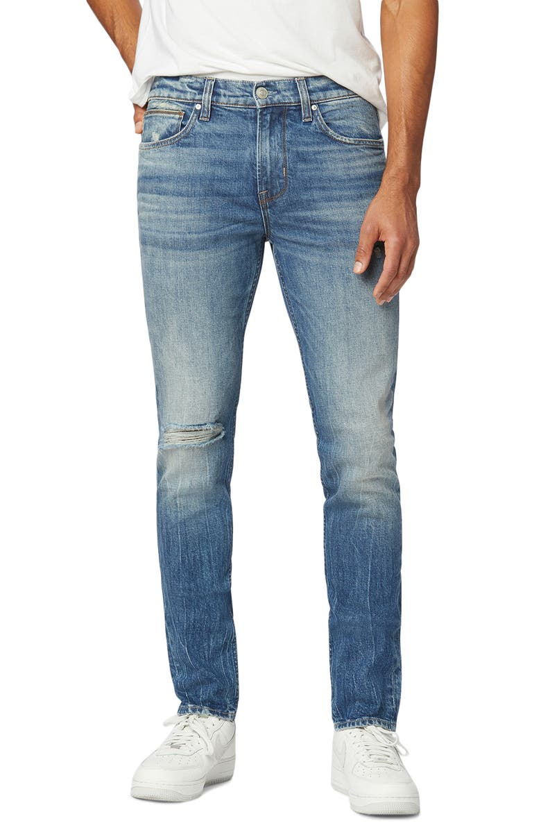 HUDSON JEANS Axl Skinny Fit Stretch Jeans, Main, color, TERMINO