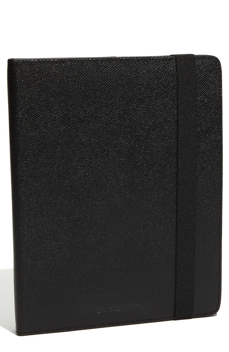 BURBERRY BRIT Burberry London Leather iPad Cover, Main, color, 001
