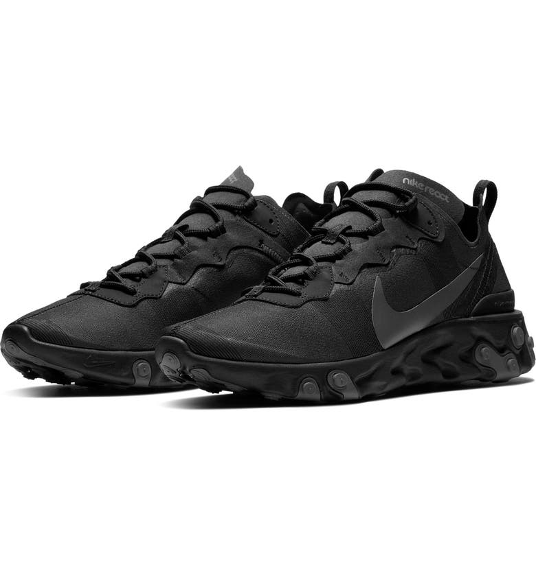 NIKE React Element 55 Sneaker, Main, color, 008