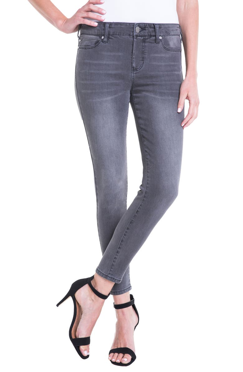 LIVERPOOL Penny Ankle Skinny Jeans, Main, color, 020