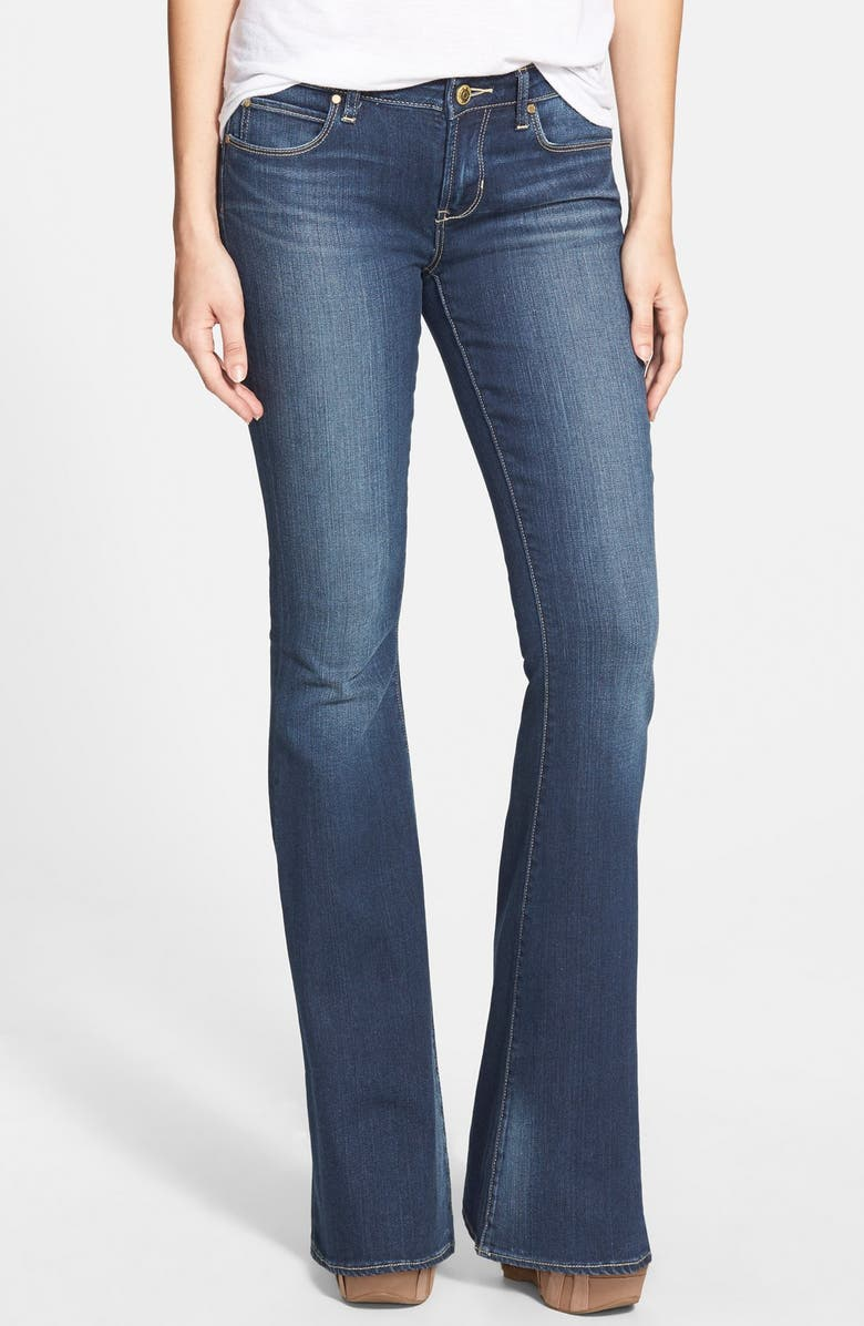 ARTICLES OF SOCIETY 'Faith' Flare Jeans, Main, color, 400