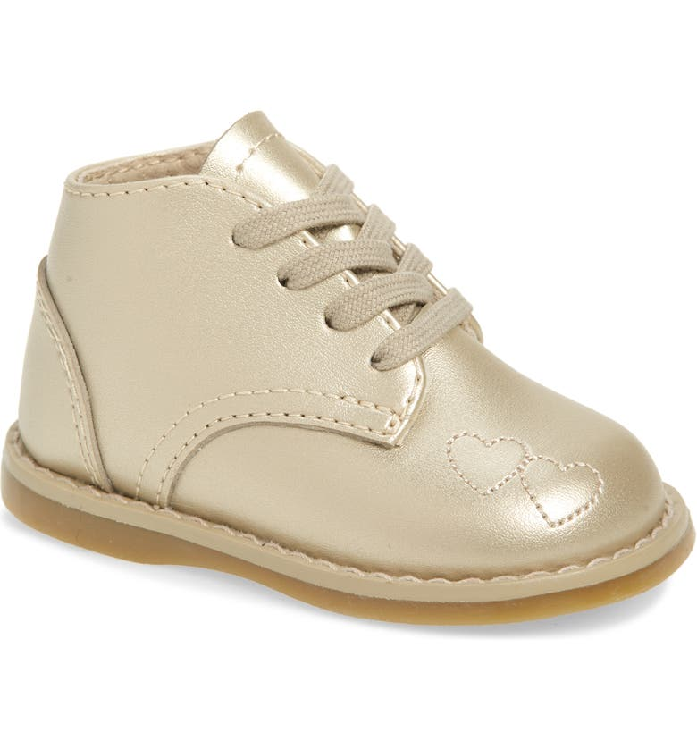 FOOTMATES Tammy Bootie, Main, color, SOFT GOLD