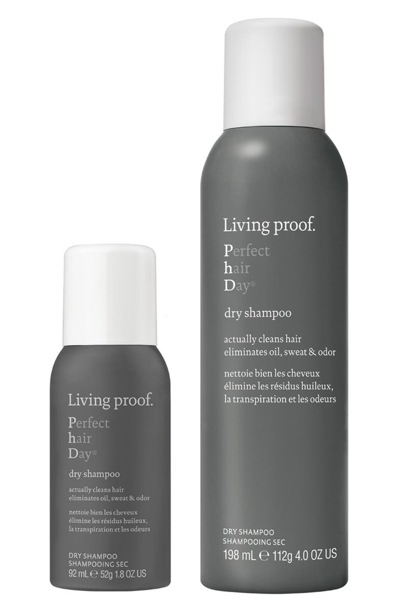 LIVING PROOF<SUP>®</SUP> Perfect hair Day<sup>™</sup> Dry Shampoo Home & Away Set, Main, color, NO COLOR