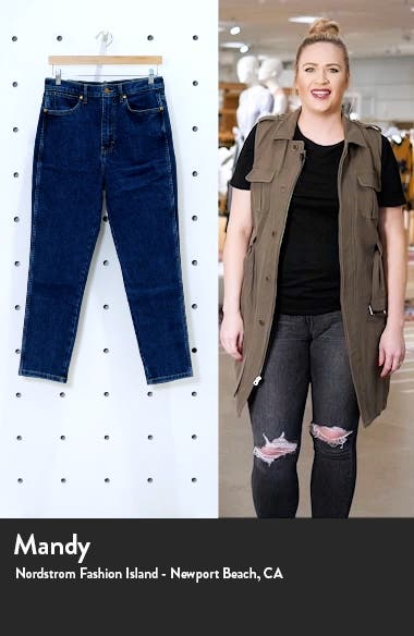Whimsy High Waist Slim Fit Jeans, sales video thumbnail