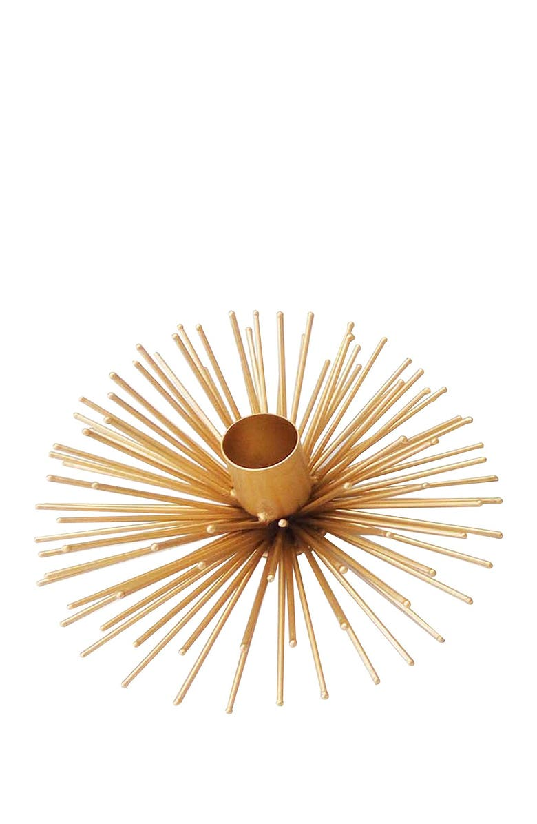 R16 HOME Candle Holder, Main, color, GOLD SPRAY