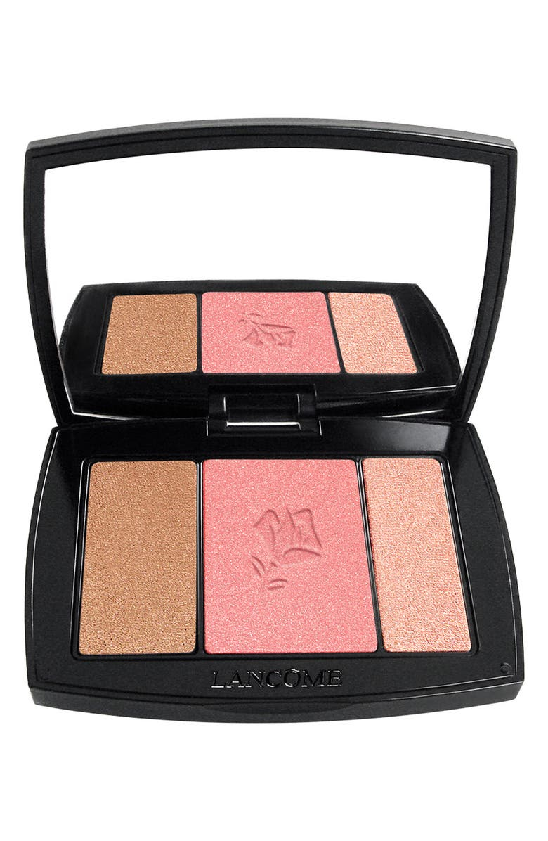 LANCÔME Blush Subtil All-In-One Contour, Blush & Highlighter Palette, Main, color, 323 ROSE FLUSH