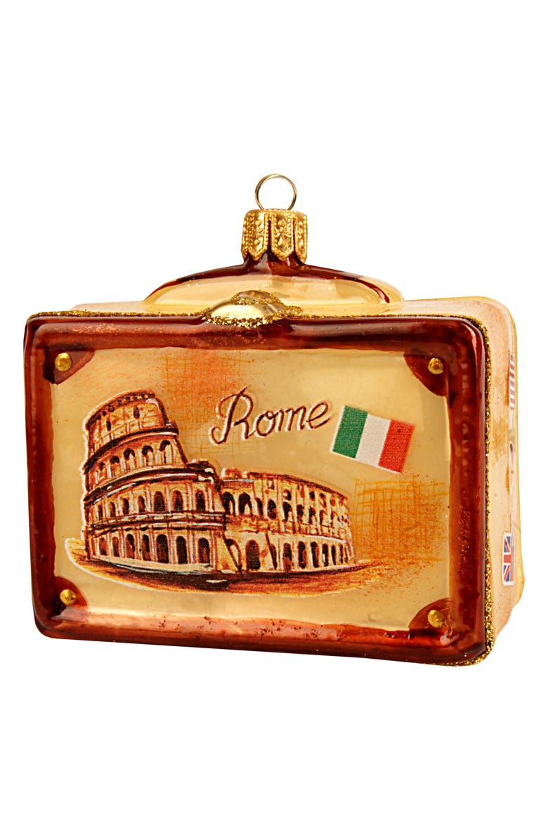 NORDSTROM at Home Vintage Suitcase Ornament, Main, color, 200