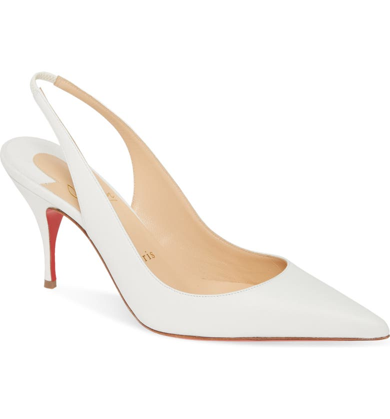CHRISTIAN LOUBOUTIN Clare Slingback Pump, Main, color, 191