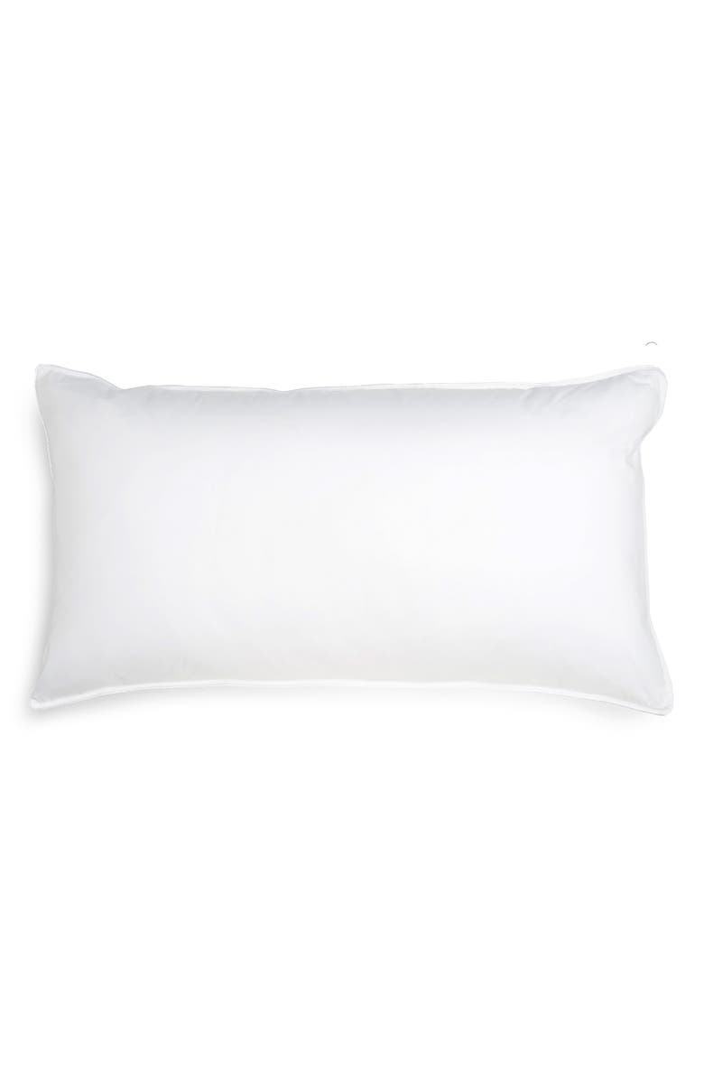NORDSTROM Down Feather Chamber Pillow, Main, color, 100