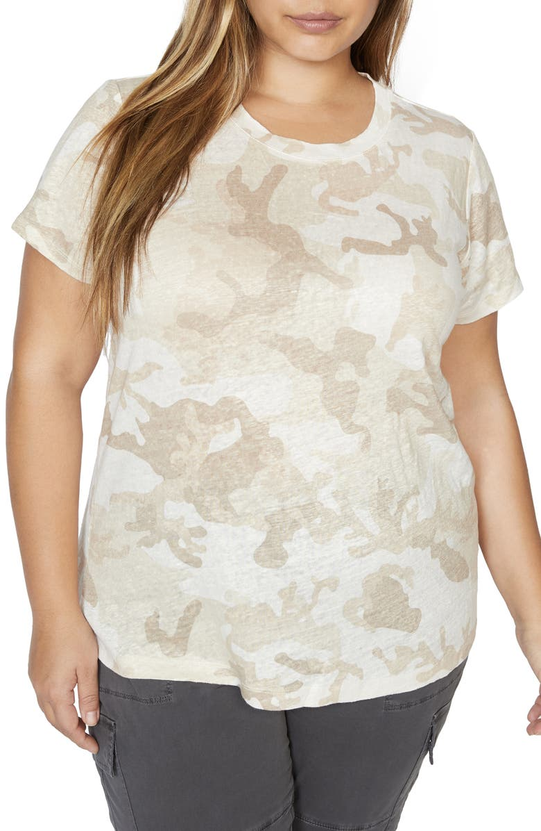 SANCTUARY The Perfect Tee T-Shirt, Main, color, 100