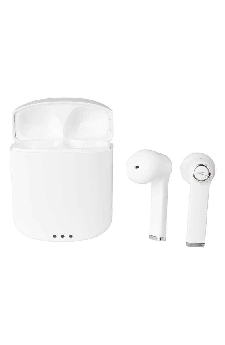 ALTEC LANSING True Evo Air Wireless Bluetooth<sup>®</sup> Earbuds, Main, color, White