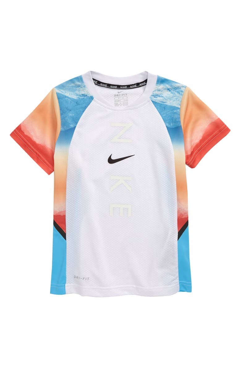 NIKE Kids' Dri-FIT Instacool Color Changing T-Shirt, Main, color, 100