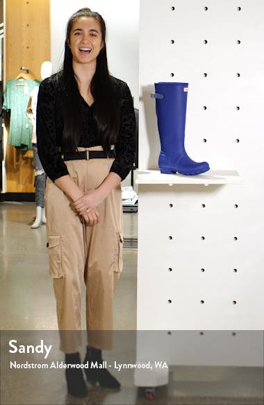 Original Tall Adjustable Back Waterproof Rain Boot, sales video thumbnail