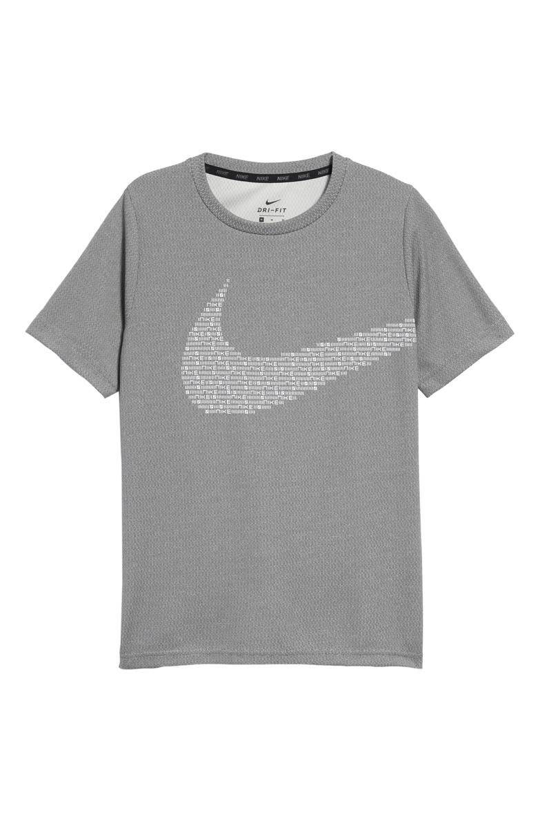 NIKE Kids' Dry Statement Performance Shirt, Main, color, 010
