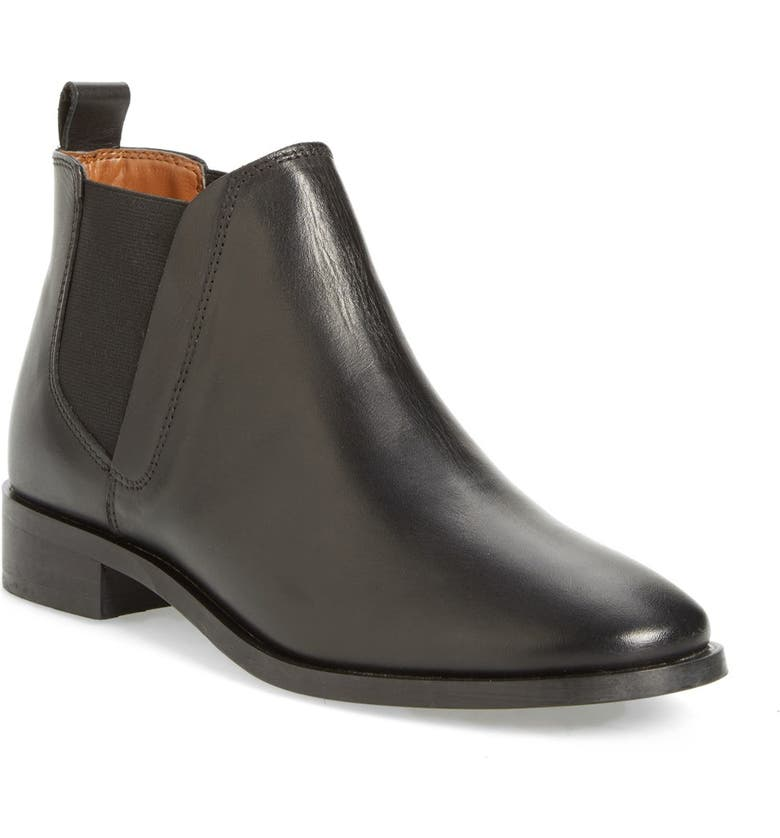 TOPSHOP 'Kaiser' Chelsea Boot, Main, color, 001