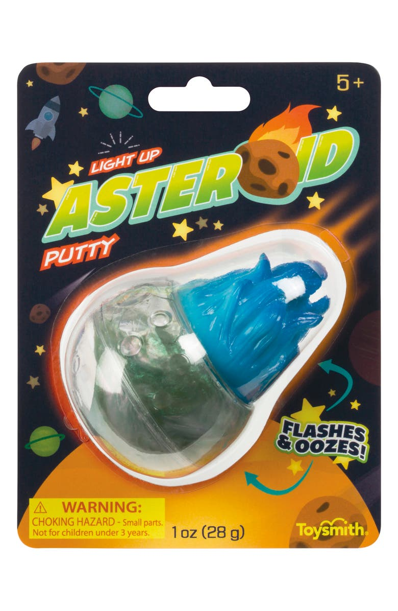 TOYSMITH Light-Up Asteroid Putty, Main, color, 960