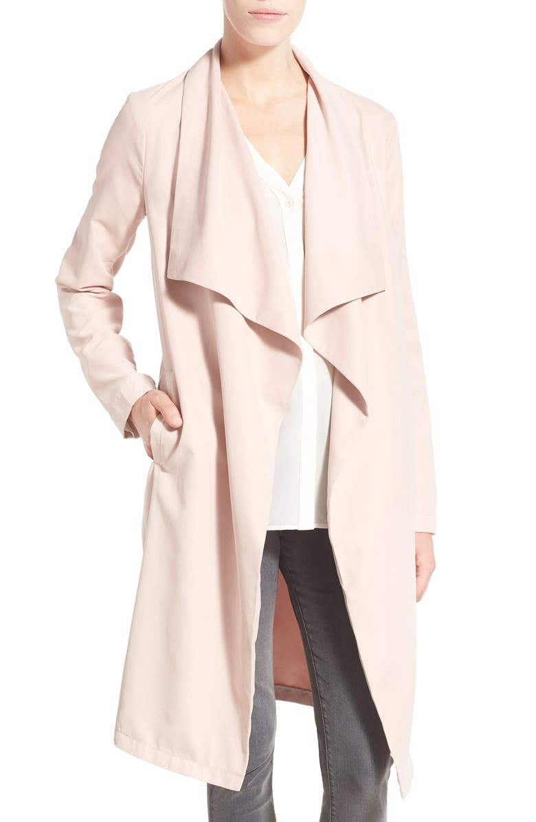 CUPCAKES AND CASHMERE 'Laswell' Drape Coat, Main, color, 690