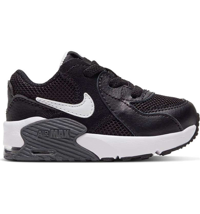 NIKE Air Max Excee Sneaker, Main, color, BLACK/ WHITE
