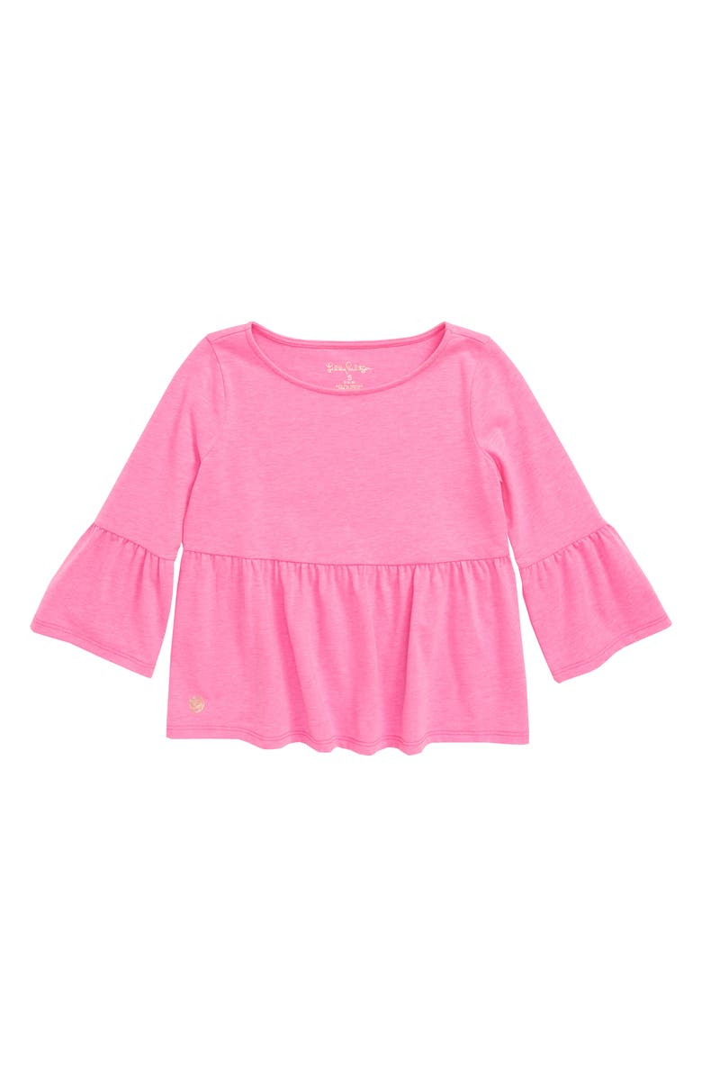 LILLY PULITZER<SUP>®</SUP> Tierney Peplum Top, Main, color, 586