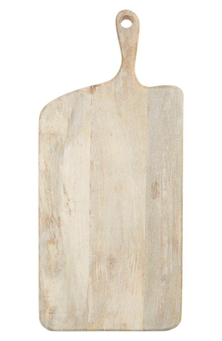NORDSTROM Large Mango Wood Cheese Board, Main, color, BLONDE