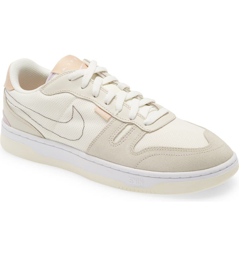 NIKE Squash-Type Sneaker, Main, color, SAIL/ BROWN/ SHIMMER