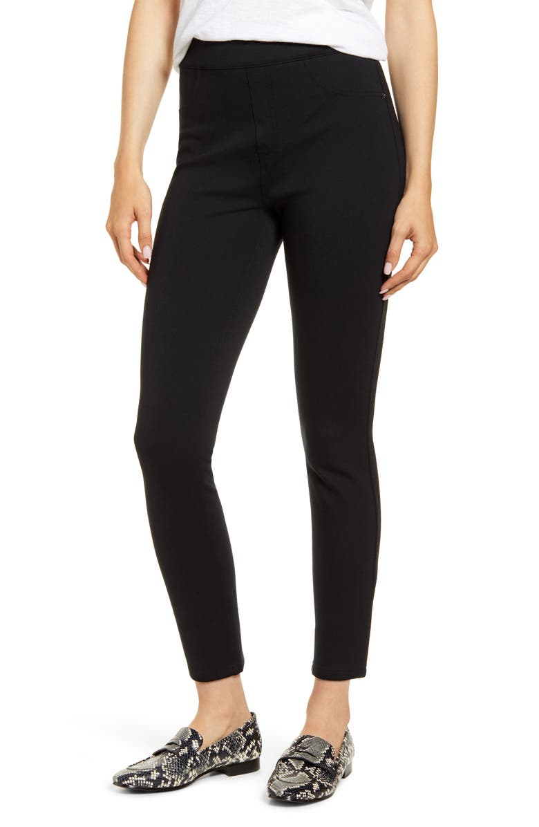 SPANX<SUP>®</SUP> The Perfect Black Pants - Four-Pocket Ankle Pants, Main, color, VERY BLACK