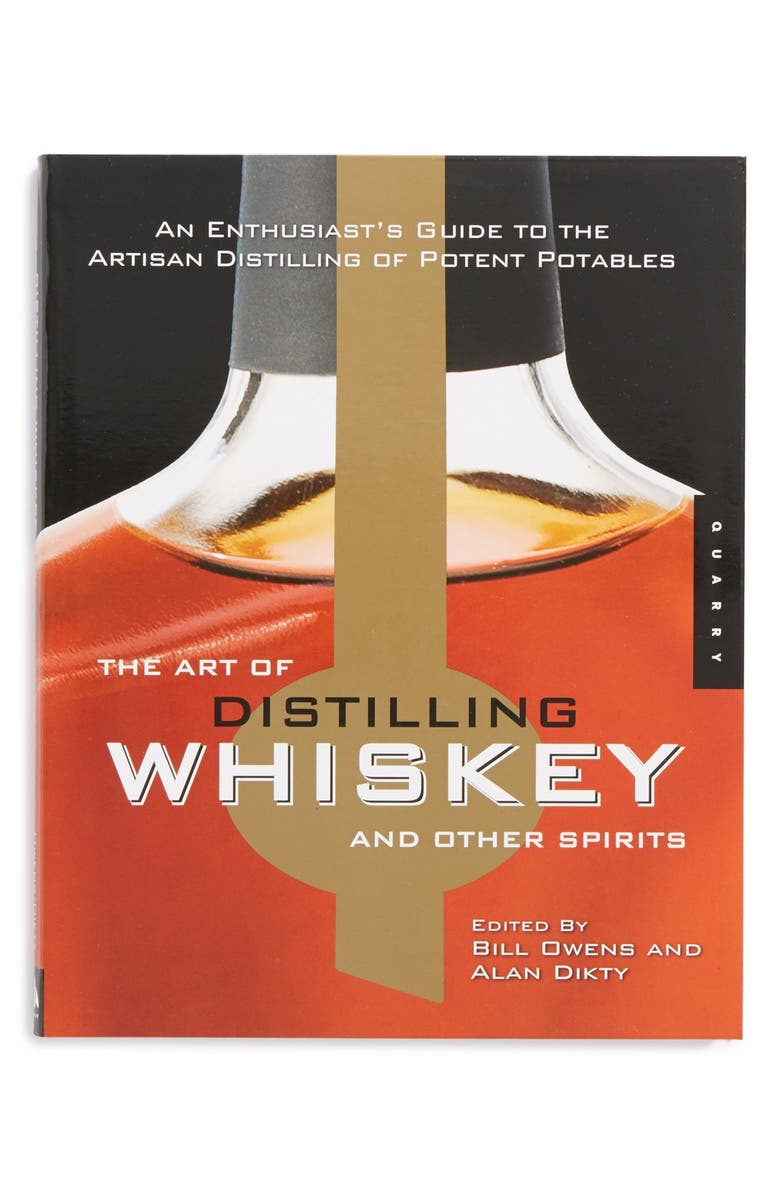 QUARTO 'The Art of Distilling Whiskey and Other Spirits' Book, Main, color, 100