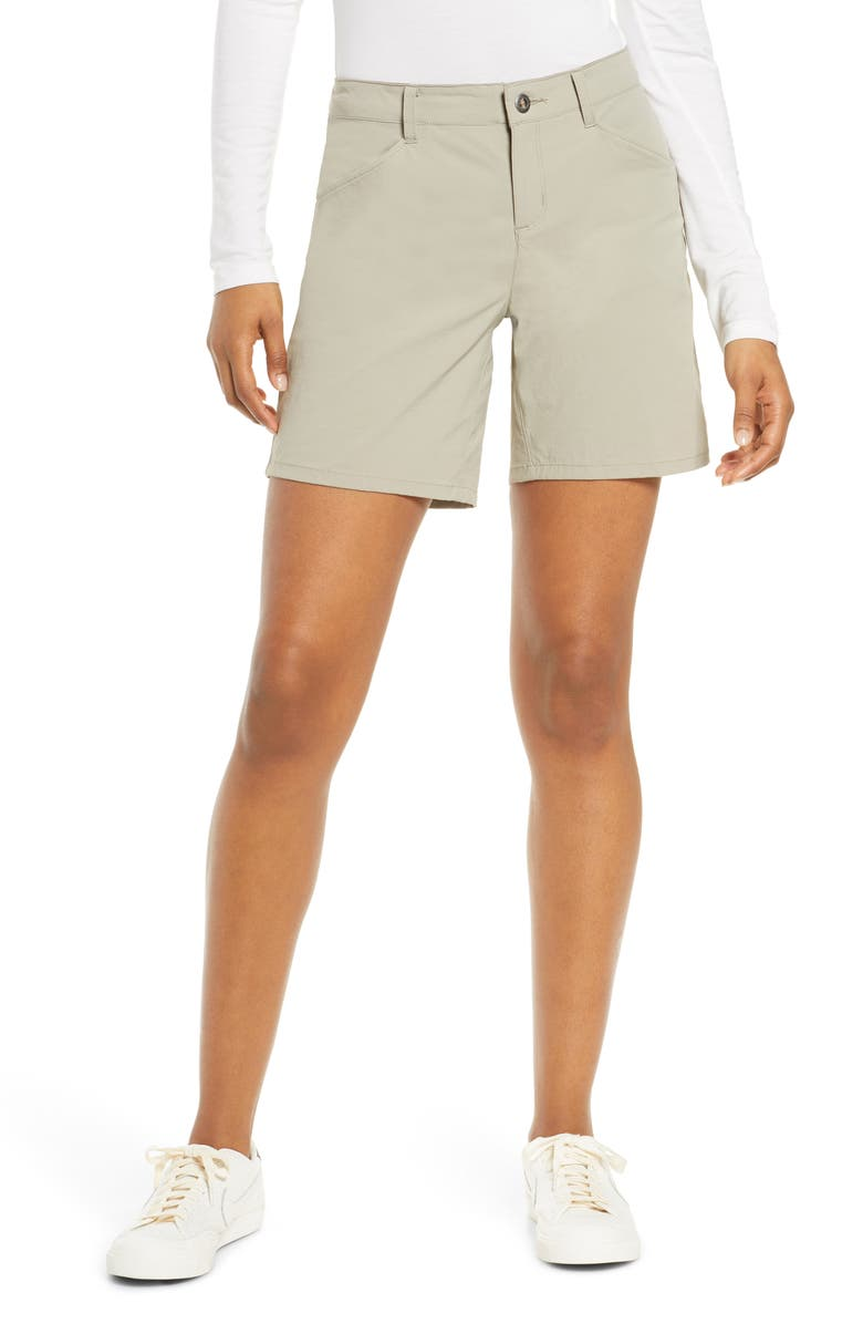 PATAGONIA Quandary 7-Inch Shorts, Main, color, SHALE