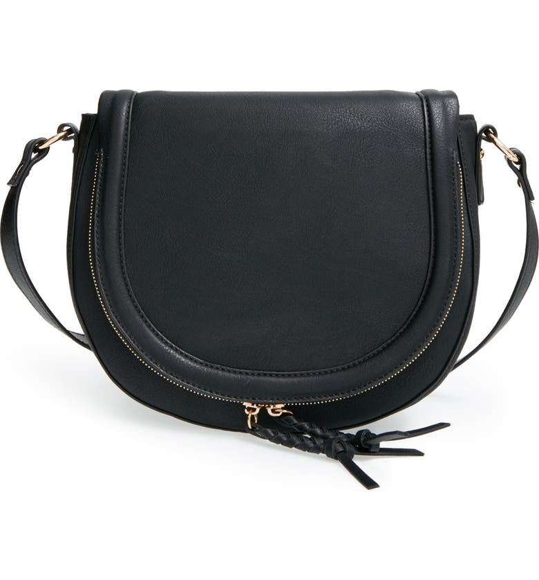 SOLE SOCIETY 'Thalia' Crossbody Bag, Main, color, 001