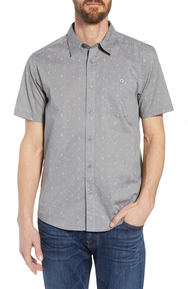 PATAGONIA Go To Regular Fit Short Sleeve Shirt, Main, color, 022