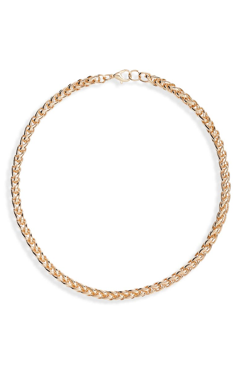 8 OTHER REASONS x Jenn Im Cinespia Chain Choker Necklace, Main, color, GOLD