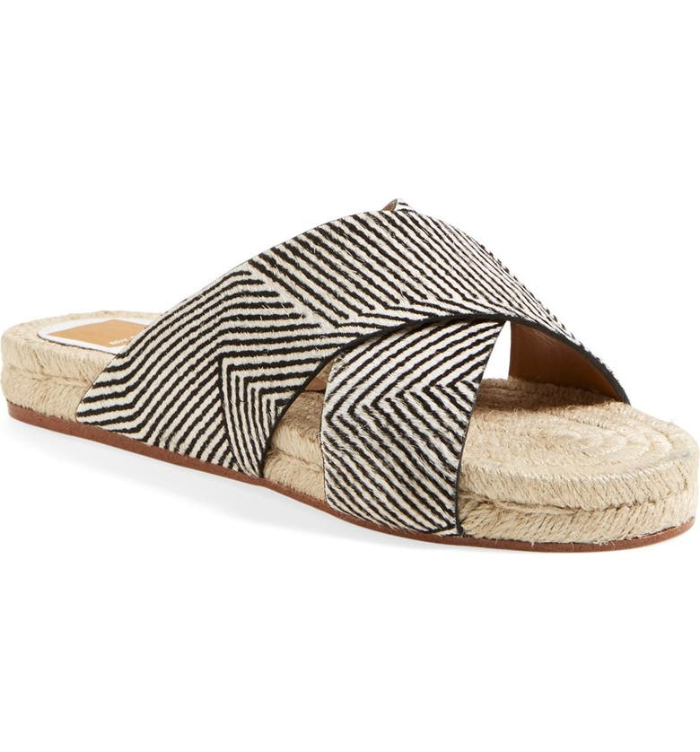 DOLCE VITA Espadrille Slide Sandal, Main, color, 001