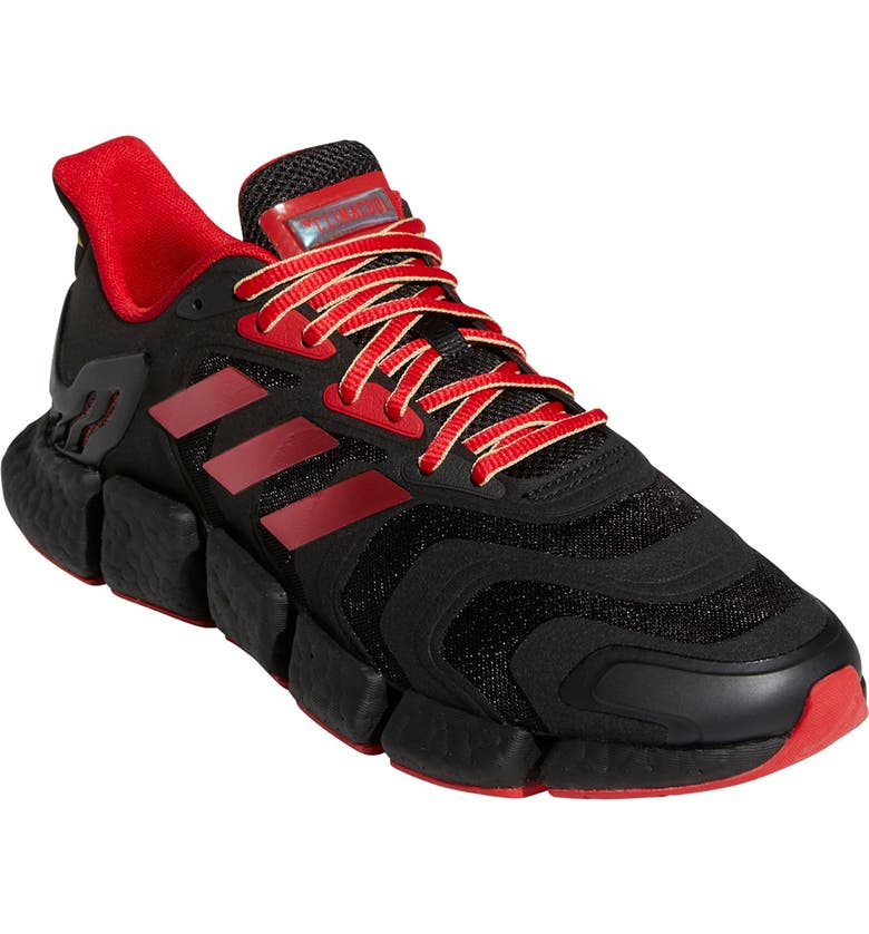 ADIDAS Climacool Vento Running Shoe, Main, color, CORE BLACK/SCARLET