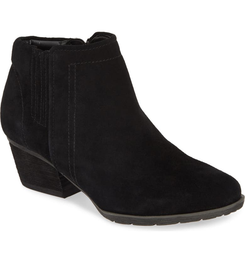 BLONDO Valli 2.0 Waterproof Bootie, Main, color, BLACK SUEDE