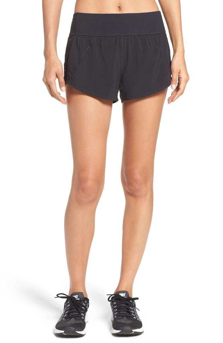 ZELLA Runaround Compact Shorts, Main, color, 001